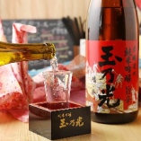 栃木の地酒をはじめ厳選した日本酒や焼酎も取り揃え