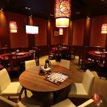 円卓テーブル個室(20名様~36名様)