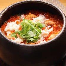木古里名物「季節の贅沢土鍋ごはん」