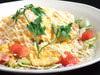 カリカリベーコンとふわふわ玉子のHOTサラダ
