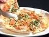 豚肉とキムチのピザ