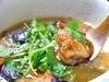 地鶏と茄子の揚げおろし煮 ゆず風味