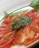 完熟トマトのイタリアンサラダ
