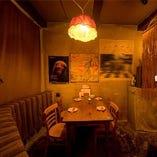 【半個室】テーブル席(4名様)