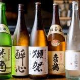 地酒(グラス、120ml)