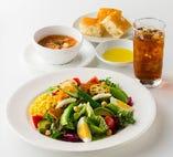 ◆ スープ&サラダランチ─────