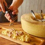 チーズ屋さんのカルボナーラ