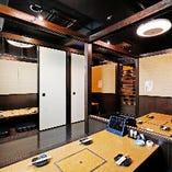 2〜24名様まで人数に応じて最適な個室をご用意いたします!