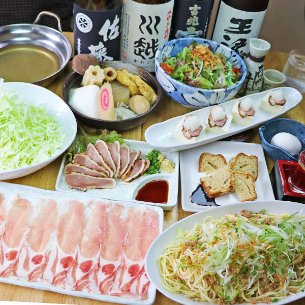 おでん鍋と九州産直食材!!宴会コース