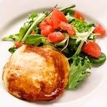 カチョカヴァッロチーズ(吉田牧場)と野菜のグリル