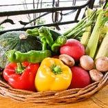 遠藤農園から仕入れた新鮮野菜