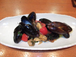 ムール貝のペペロンチーノ仕立て
