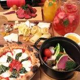 魅力的なお料理が盛りだくさん!小皿料理は473円~