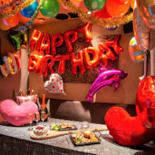 ◆インスタ映え!バースデー2時間食べ飲みプラン◆ルームデコレーション付3465円(税込)女子会/誕生日