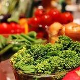 鮮度に自信◎季節の新鮮野菜