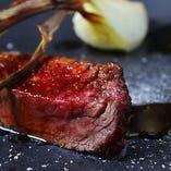【地元にこだわる】 岡山県産和牛モモ肉の炭火焼きロースト