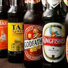 5種のインドビールが楽しめる!
