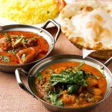 【2時間飲み放題付】インドを知る旅!!〈全6品〉宴会・飲み会・歓迎会