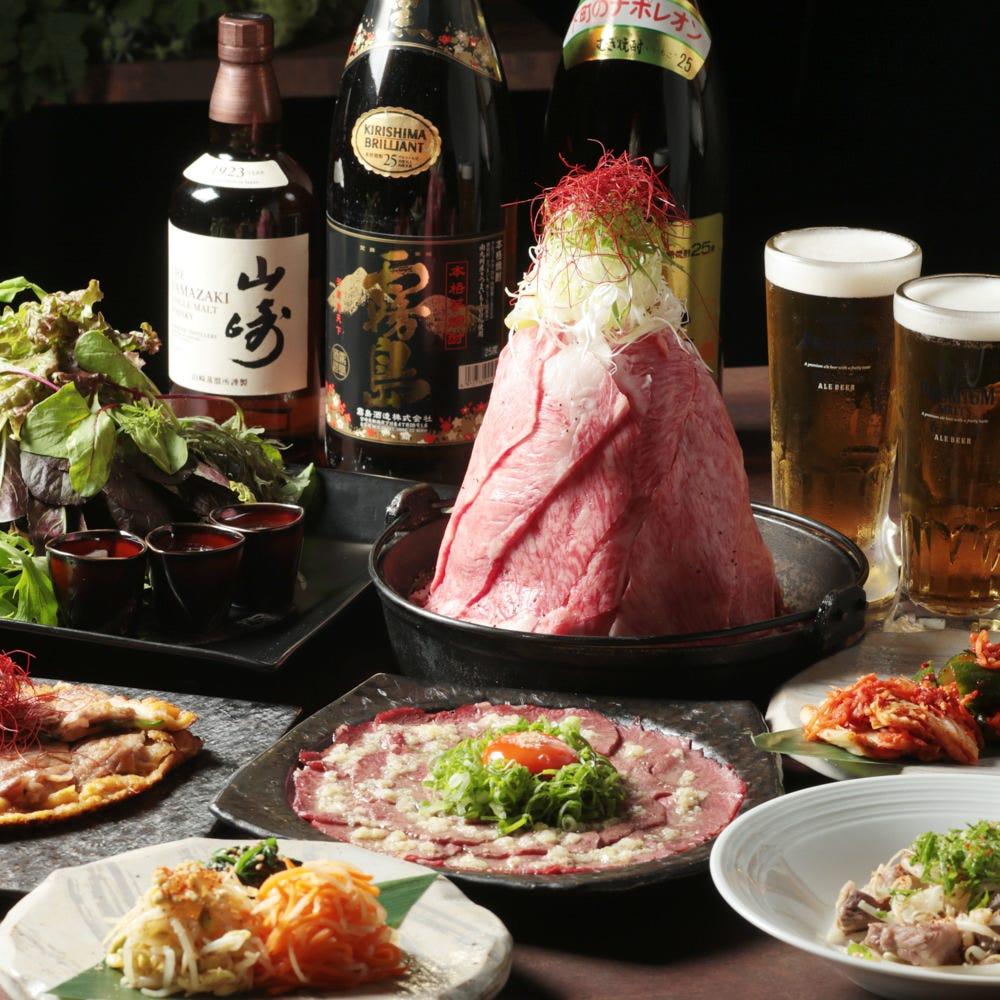 焼肉&肉鍋食べ放題コース4380円!