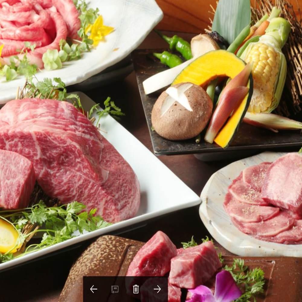 ★2.5時間飲み放題付き★全13品村田牛焼肉コース6050円
