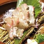 みかん鯛藁焼き塩たたき