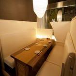 ◆ご接待におすすめな広々ボックス席