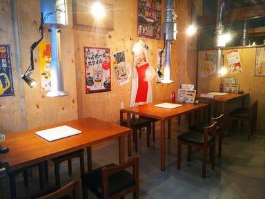 七輪焼肉 朱々 富士吉原店  店内の画像