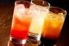 ビール、日本酒、焼酎、ハイボール、カクテル各種、ノンアルコールビール、ノンアルコールカクテル、選べるグラスワインなど