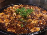 【本格派の麻婆豆腐】鉄板麻婆豆腐