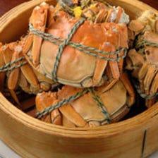 秋の中華の旬は何と言っても上海蟹