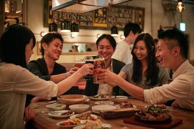 YONA YONA BEER WORKS 新宿東口店 コースの画像