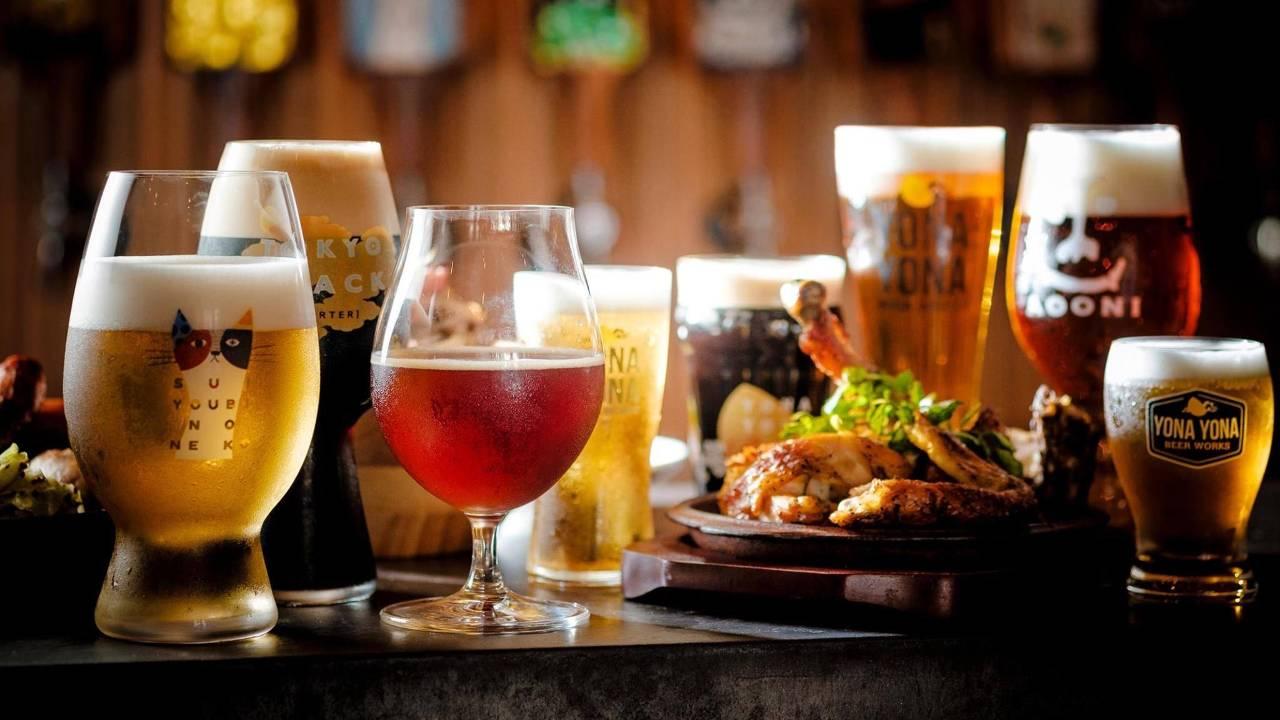 バラエティ豊かなビールをご用意