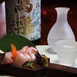 【日本酒×鮮魚】 プレミアム飲み放題付コースなら地酒も満喫