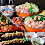 飲放題付選べる鍋料理のコースなど、企業宴席や飲み会におすすめ