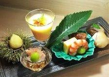 季節の日本料理は目でも味わえます