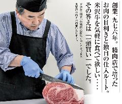 米沢牛 焼肉 さかの