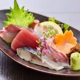 【鮮魚】 沖縄近海で獲れた新鮮な魚介で織りなすお料理を満喫