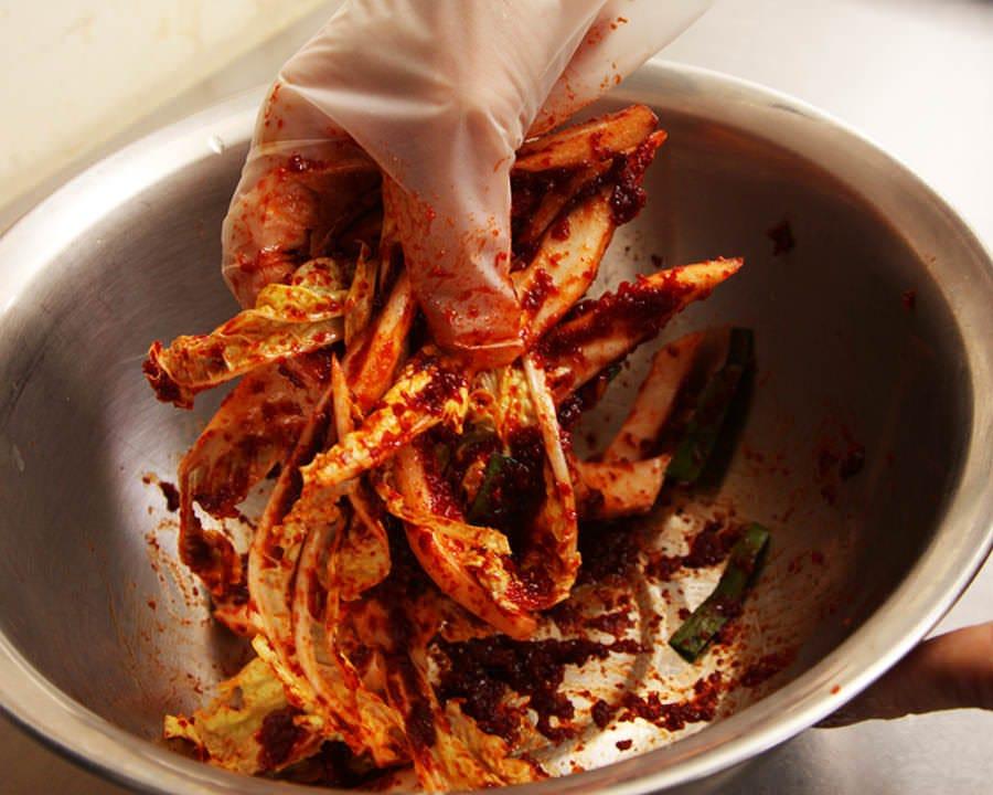 自慢の手作り韓国料理