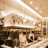 【カウンター】目指すは寿司屋♪お好みの料理をリクエストください!