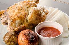 ハーブ鶏のロティサリーチキン