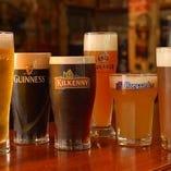 最大12種類の樽生ビールご用意しております