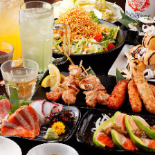 【女性限定<選べる3種の料理プラン>】女子会3H食べ飲み放題コース|女子会・ママ会