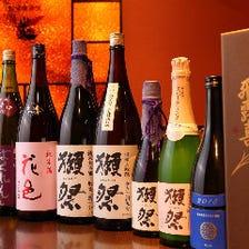 五感で吟味して選び抜いた日本酒