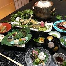 料理長のおまかせ懐石 10,000円(税サ別)コース