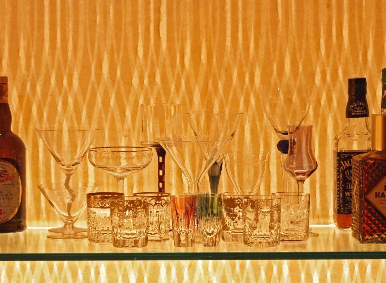 拘りの美酒とグラスのマリアージュ