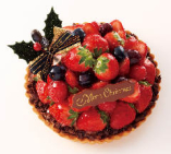苺のクリスマスタルト(ショコラ)
