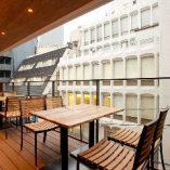 半個室風にご利用可能な開放感抜群テラス席も完備!15名様まで