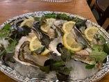 新鮮な生牡蠣は絶品
