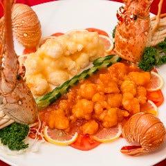 【★】伊勢海老の二種料理