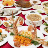〈本格中国料理〉 味も見た目も格別!多彩な逸品は約200品